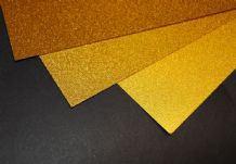Gold Sandy Finish Inkjet Printable Film 5xA4 sheets